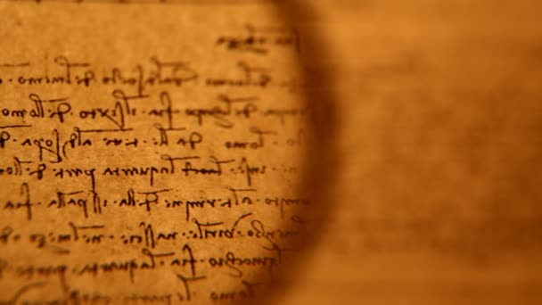 Starý papír se skripty