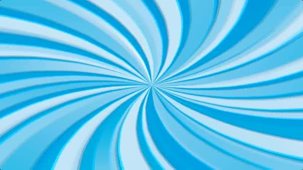 Seamless Blue abstract rays sunburst, animation, HD 1080i 25fps