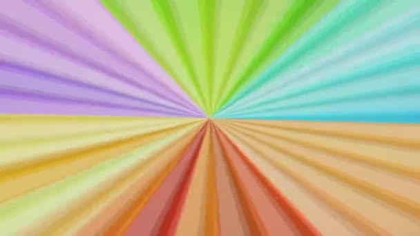 Seamless Colorful abstract rays sunburst, animation, HD 1080i 25fps