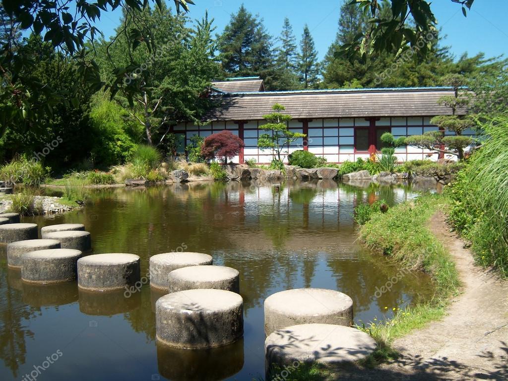 Jardin japonais nantes stock photo mipimages 12753296 for Plan jardin japonais