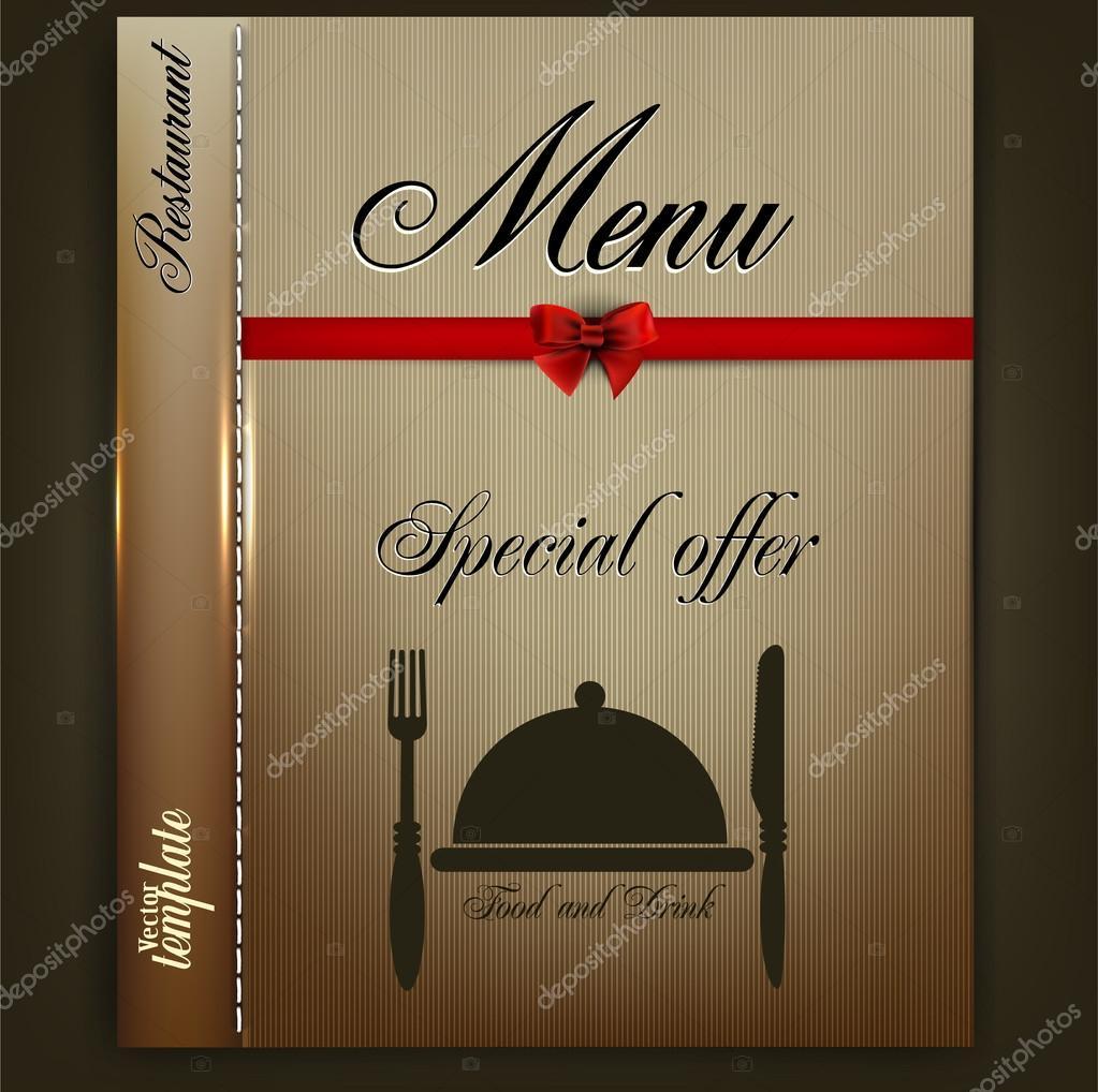 diseño de menú para el restaurante o cafetería. plantilla vector ...