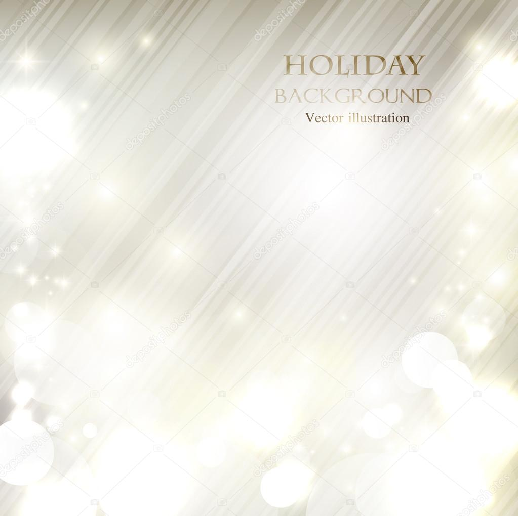 Elegant Christmas shining background with snowflakes and place f