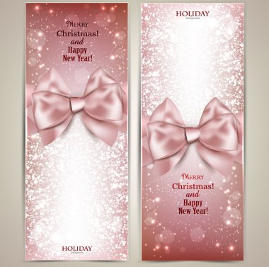 Greeting cards with bows