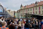 Kytara guinness svět záznamu události v Polsku 1 května 2014