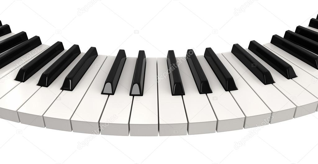 piano keyboard wave stock photo panama555 31781829. Black Bedroom Furniture Sets. Home Design Ideas