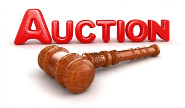 Wooden Mallet and Auction
