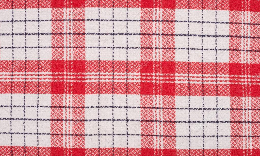 Red And White Kitchen Towel U2014 Stock Photo #30903663
