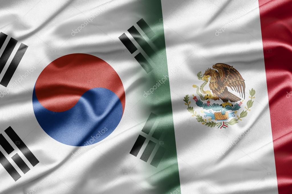 Corea Del Sur Y Las Naciones Del Mundo Una Serie De Imagenes Con La Bandera De Corea Del Sur Foto De Ruskpp