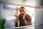 Fényképek üres hűtőszekrény