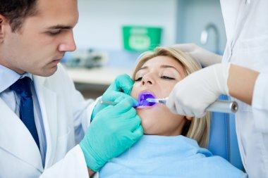 Dental drying procedure
