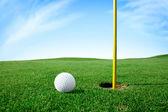 golfové míče příští hole
