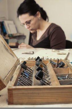 Jeweler's Tools Box