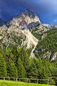 Fotografie vrchol v pohoří Dolomity