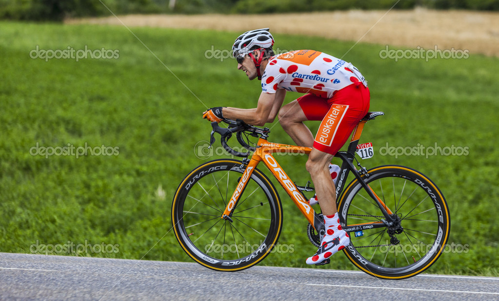 The Cyclist Mikel Nieve Iturralde – Stock Editorial Photo ... 1b61eef00