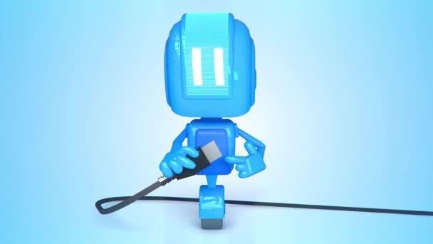 robota animovaný 3