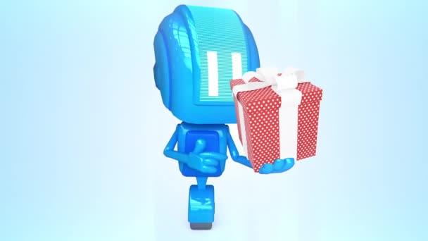 Robot animated 21