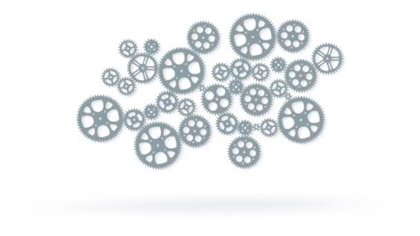 hurok Animáció animált fogaskerekek
