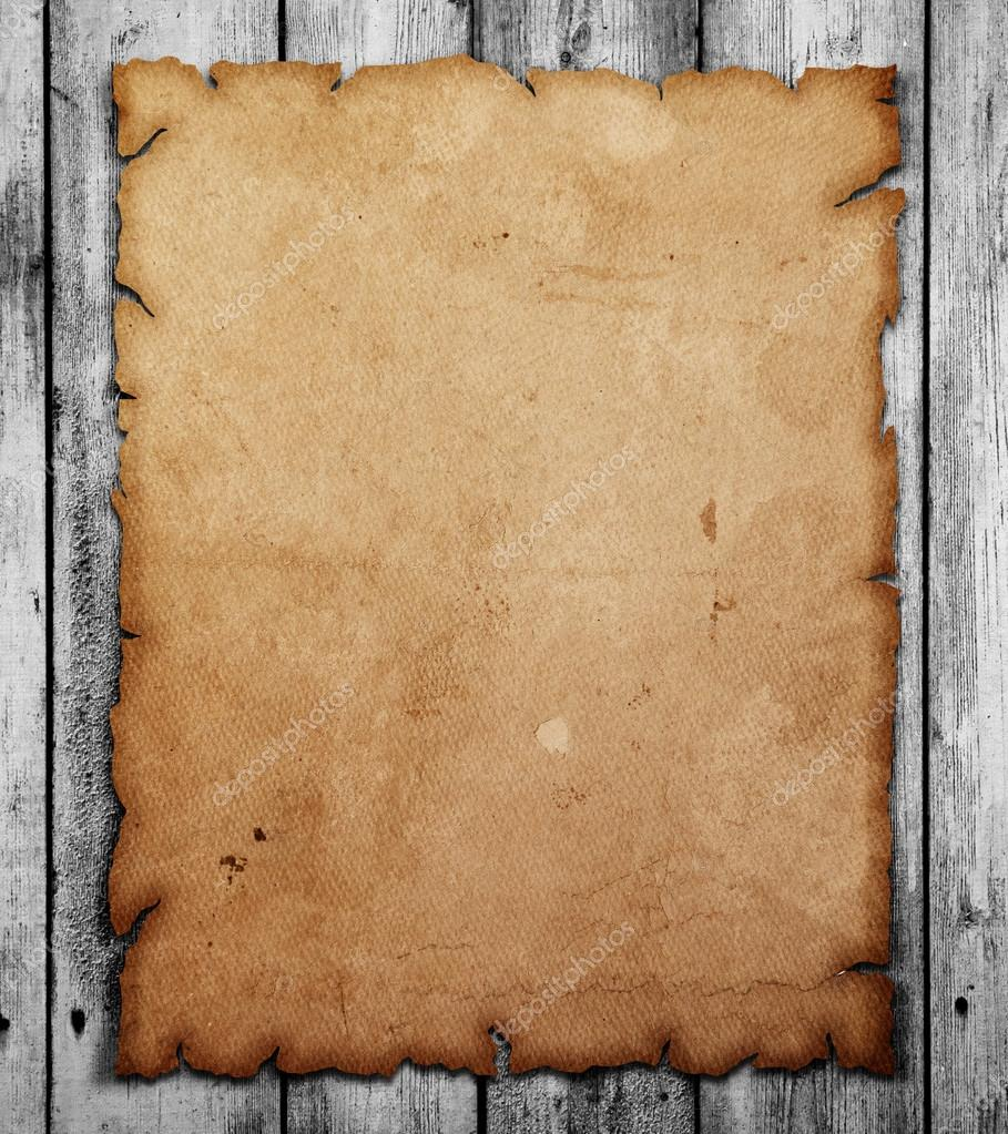 Antigua hoja de papel blanco en mesa de madera fotos de - Paragueros antiguos ...