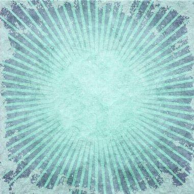 Retro sunburst pattern