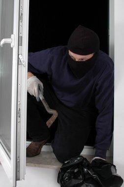 Thief at home