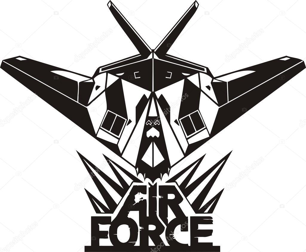 us air force military design stock vector digital clipart rh depositphotos com air force clip art images air force clip art logo