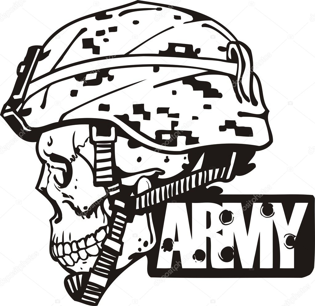 Clipart: military | US Army Military Design - Vector