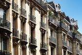 Tipikus párizsi építészet, downtown, Párizs, Franciaország