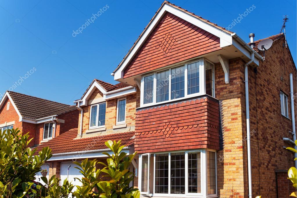 Modern New Houses U2014 Fotografia De Stock