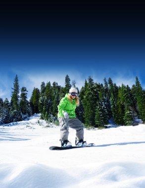 Snow riding