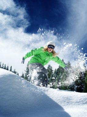 Snow time ride