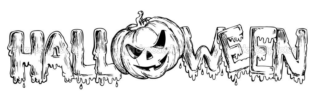 Рисунки на Хэллоуин  Halloween  YouTube
