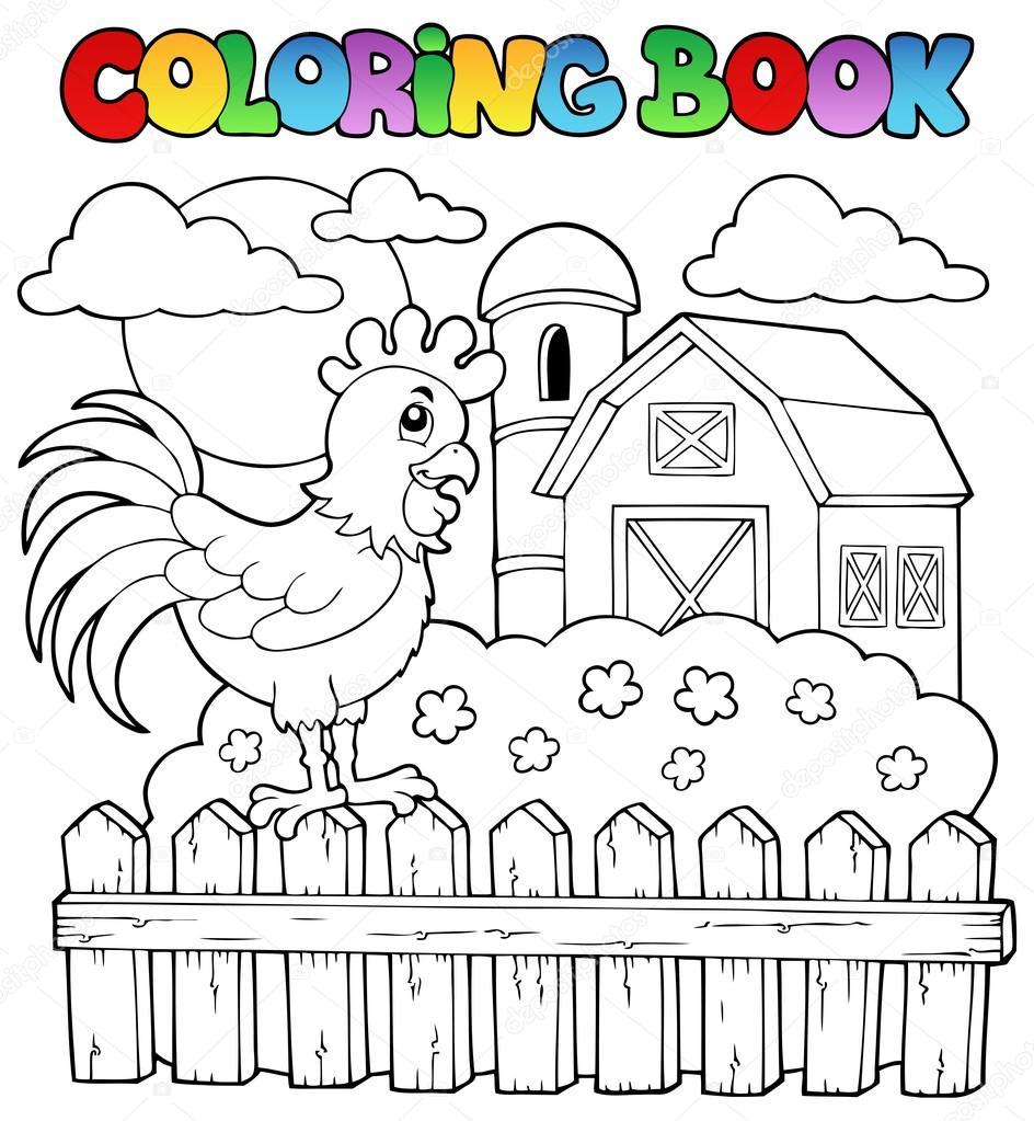 Farma Kolorowanki Bajka Farma Wektory Stockowe Bajki Dla Dzieci Farma Obrazy I Ilustracje Depositphotos