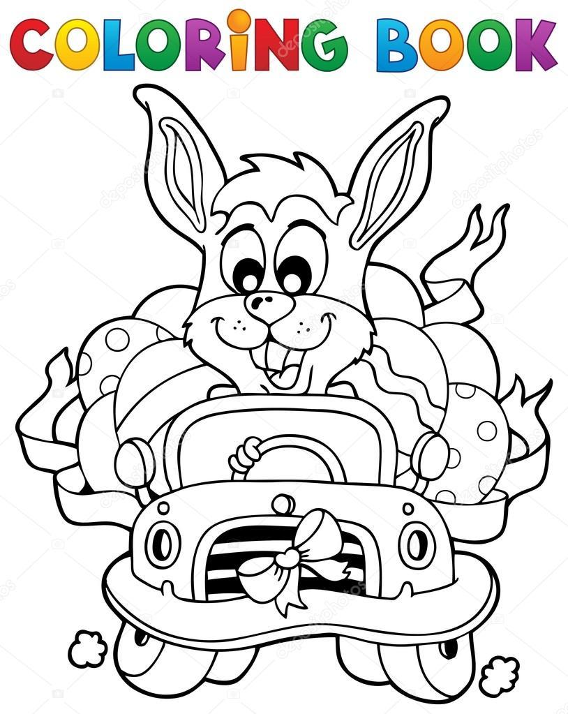 libro para colorear con temática de Pascua 7 — Archivo Imágenes ...