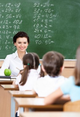 Teacher questions pupils