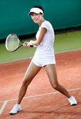 Hráčky na antukový tenisový kurt