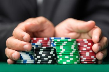 Gambler going
