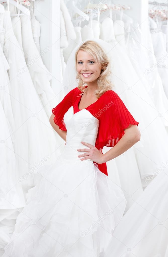 on sale d91c7 da9a1 Cerco un abito da sposa — Foto Stock © agencyby #39901181