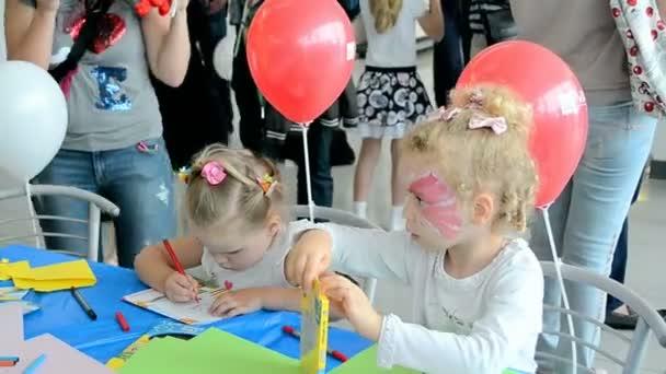 gyerek, rajz, nemzetközi Gyermeknap