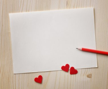 Love notes. Background for design