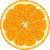 Oranžová na bílém pozadí