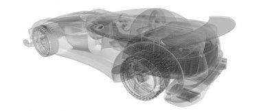 Xray skeleton car