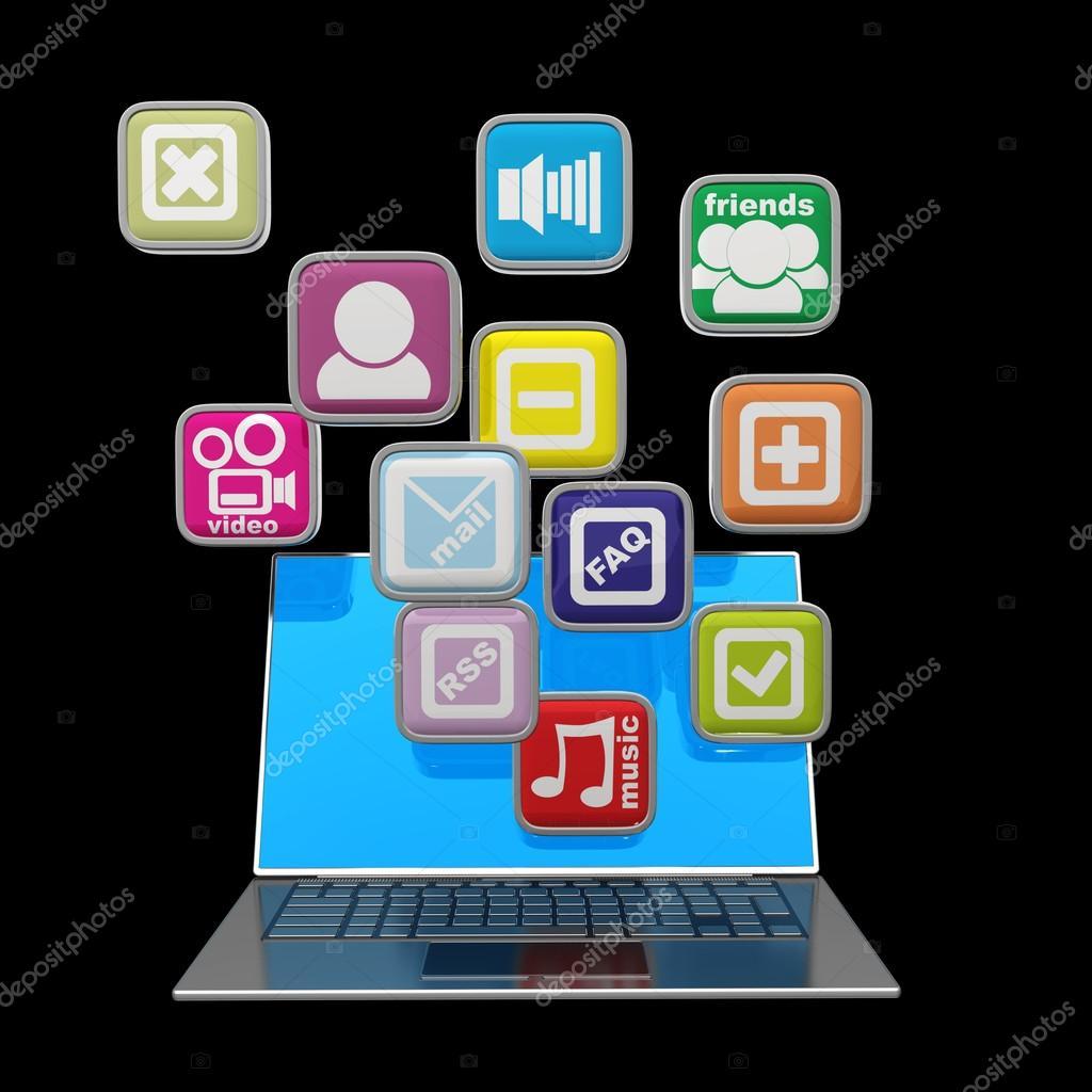application ordinateur portable