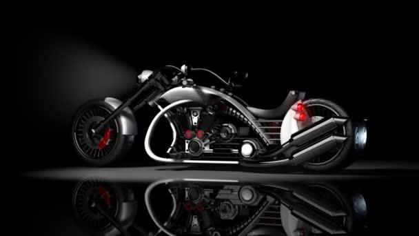 koncept motocykl vlastní kolo