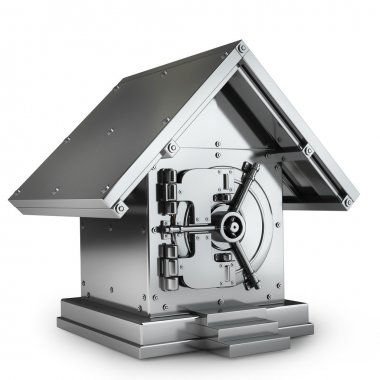 Bank Safe in form of house