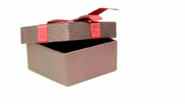 Dárková krabice otáčení