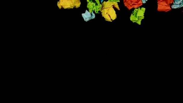 fúj színes papír labda
