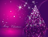 Fotografie Vánoční strom růžová a stříbrná