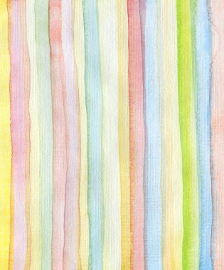 Strips watercolor painted background
