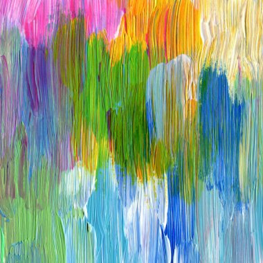 Abstract textured acrylic hand painted background stock vector