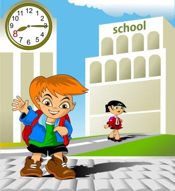 Meeting at school